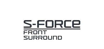 Logo technologie S-Force Front Surround