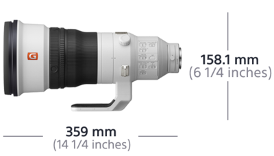 Image de FE 400 mm F2.8 GM OSS