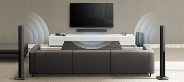 Bild von 5.1-Kanal-Home-Entertainment-Soundbar-System