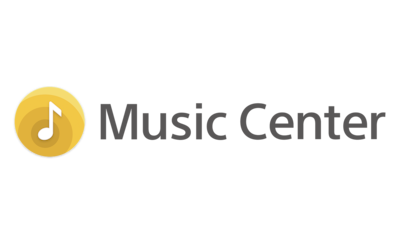 Logo Sony | Music Center