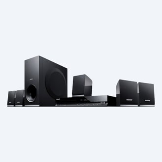 Bild von DVD-Home Entertainment-System