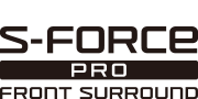 S-Force PRO Front-Surround Sound-Logo
